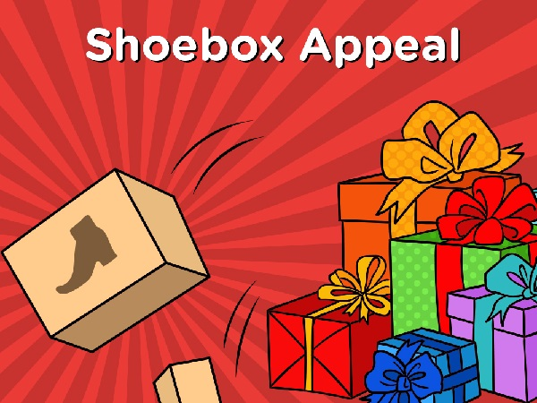 Festive Volunteering: Shoebox Appeal